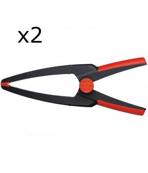 Набор из 2-х пружинных струбцин Clippix XCL2 Bessey XCL2-SET