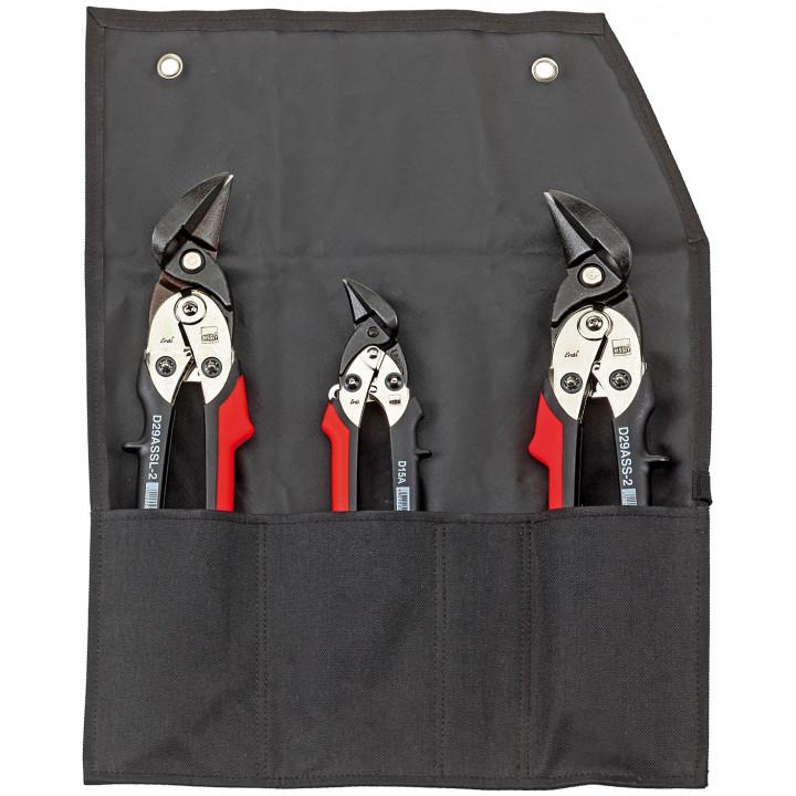 Набор ручных ножниц для резки по металлу Bessey ERDI D29-15SET